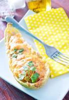 gebakken merg met kaas foto