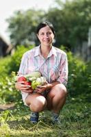 geoogste groenten foto