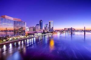 Jacksonville, de skyline van Florida foto