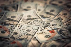 nieuwe 100 dollarbiljetten foto