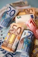 euro contant foto