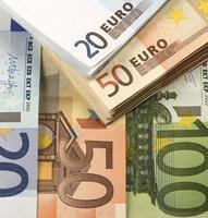goedkoop-geld-euro-europese valuta foto