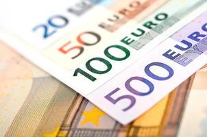 euro rekeningen foto