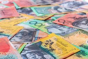 Australische bankbiljetten foto