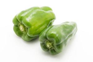 groene pepers foto