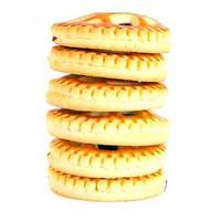 koekjes met kersenjam foto