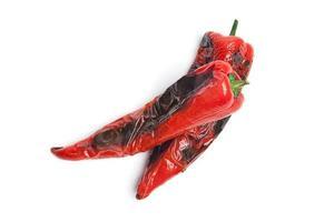 gegrilde rode paprika foto