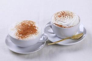 koffie drinkt foto