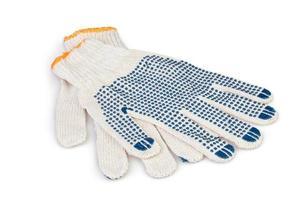 beschermende handschoenen werken foto