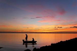 vroege vissers foto