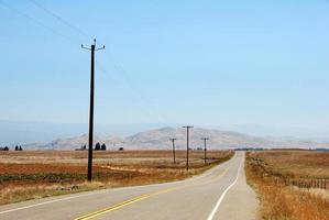 route 198 naar sequoia national park foto