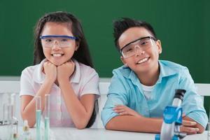 toekomstige wetenschappers foto