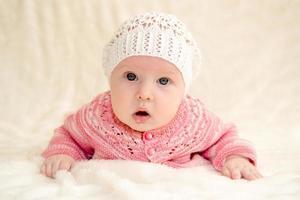 klein meisje foto