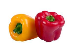 twee paprika's foto