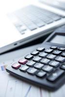 financiële bedrijfsberekening foto