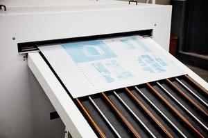 drukprocessen foto