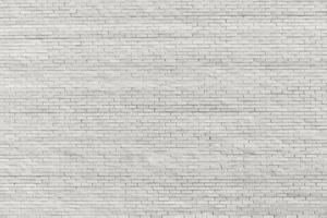 witte bakstenen muur foto