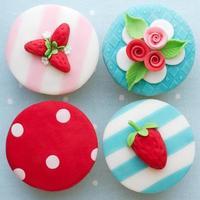 shabby chic cupcakes foto