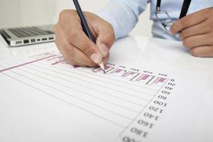 financieel plan foto