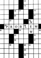 nieuw probleem en puzzelen foto