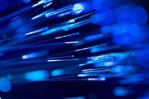 optische vezels abstract wazig technische achtergrond foto