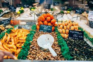 Vismarkt foto