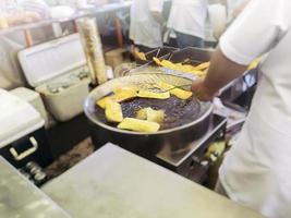 gebak in de straatmarkt.