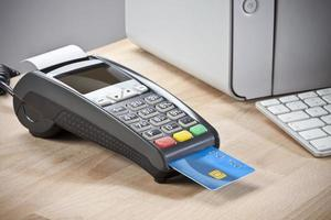 creditcard lezer foto