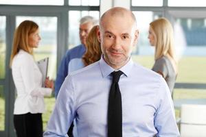 senior zakenman foto
