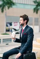elegante zakenman foto