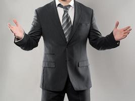 zakenman handen foto