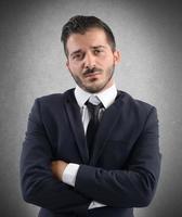 gedemoraliseerde zakenman foto