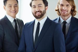 bebaarde zakenman foto