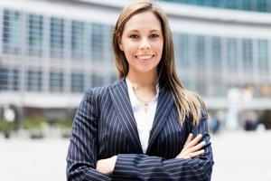 zakenvrouw portret