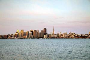 het centrum van San Francisco gezien vanaf de baai