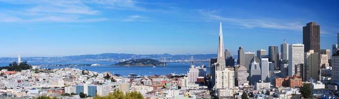 panorama van San Francisco 7 foto