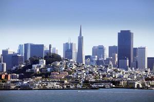 het centrum van San Francisco foto