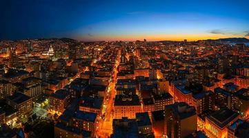 de hartslag van San Francisco foto