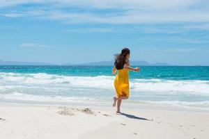 paradijselijk strand foto