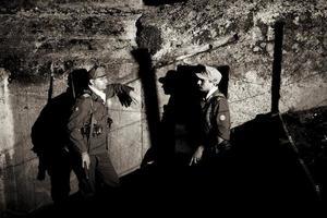 Duitse officieren foto