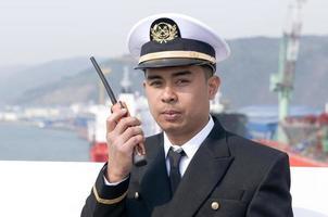 navigatie-officier foto