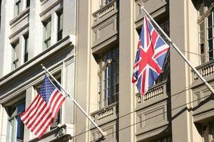 geallieerde vlaggen foto