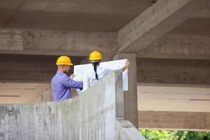 bouw manager architect foto