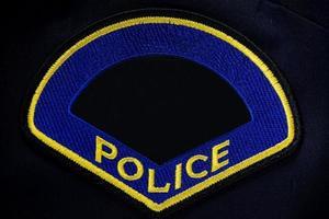 politie patch foto