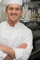 portret van een chef-kok