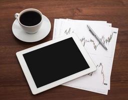digitale tablet foto