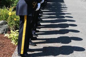 officier schaduwen foto