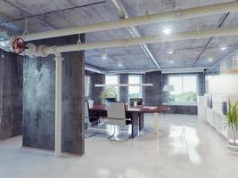 loft kantoor foto