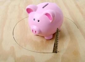 onrustige financiën foto