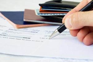 persoonlijke financiën foto